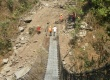 Repairing of trail bridges helps to ease the lives of locals