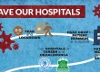 SAVE our HOSPITALS - Update 1 with poster